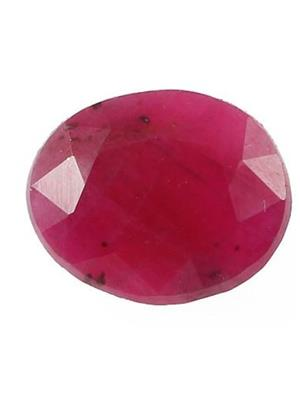 DEVVRAT JEWELS DEVGEMS126  Natural Ruby Faceted Gem stone
