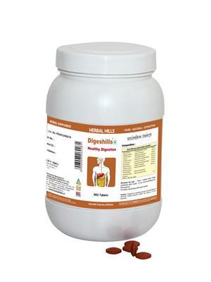 Herbal Hills Dg028 Brown Digeshills Tablet