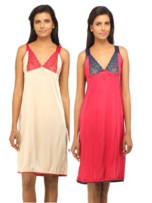 DesiHarem DH1415KM Multicolored Women Night Wear