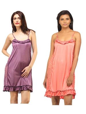 DesiHarem DH4345KM Multicolored Women Night Wear 8fd42d2f7