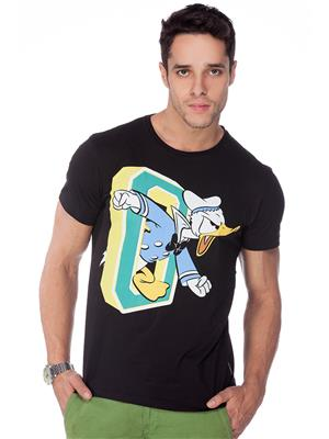 Disney MF1CMT746 Black Men T-Shirt