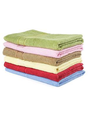DETAK DK- 111 Multicolored 6 Bath Towel