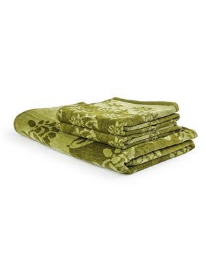 DETAK DK-1240G Green 1 BathTowel-2 Hand Towel