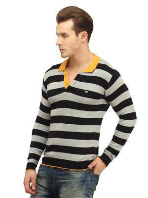 Duke 8493 Black & Grey Men T-shirt
