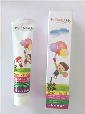 Patanjali DKJ1 Natural Toothpaste For Kids