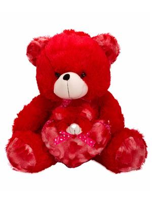 DETAK DKK-16-Red Loveable Mother & Baby Teddybear