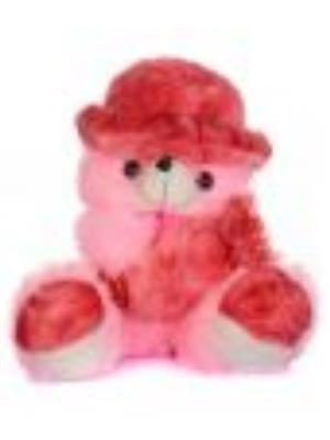 DETAK DKK-16 A-Pink Teddy with Holding Toffi with Adorable Cap