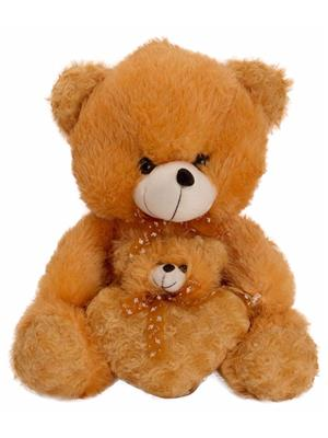 DETAK DKK-19-Brown Loveable Mother & Baby Teddybear