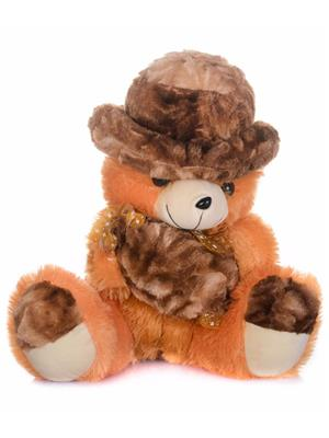 DETAK DKK-22 C-Brown Teddy with Holding Toffi with Adorable Cap