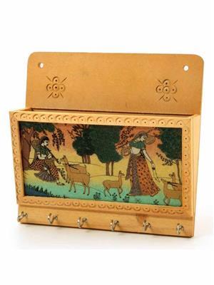Kiran Udyog  DLI4HCF-1102  Wooden Key Holder
