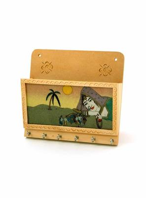 Kiran Udyog  DLI4HCF-1103  Wooden Key Holder