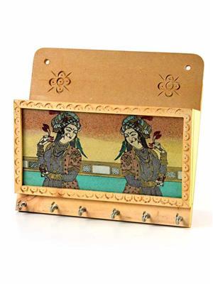 Kiran Udyog  DLI4HCF-1116  Wooden Key Holder