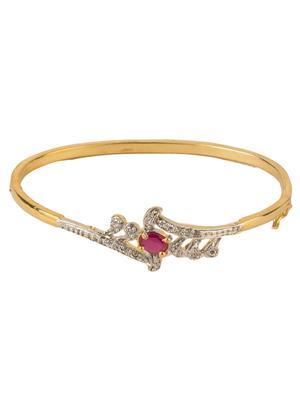 Awww Dm-Br-117 Golden Women Bracelet