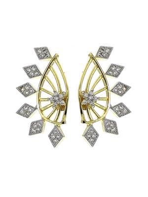 Awww Dm-E-46 Golden Ear Cuffs Women Earrings