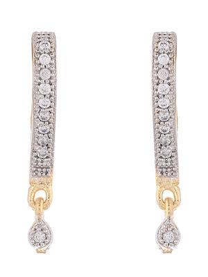 Awww Dm-E-541 Gold-Rhodium Women Earrings