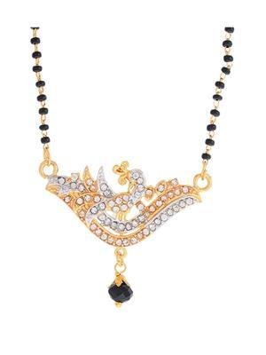 Awww Dm-N-639 Golden Women Necklace Set