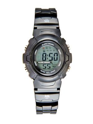 Kool Kidz Dmf-022 H-Bk Grey Kids Watch