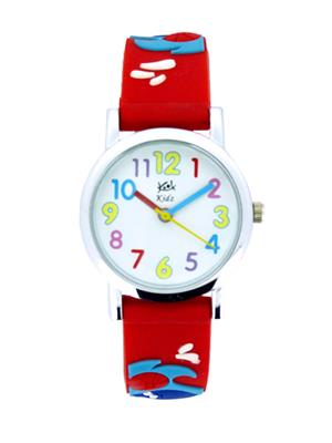 Kool Kidz Dmk-001-Yl 01 White Kids Watch