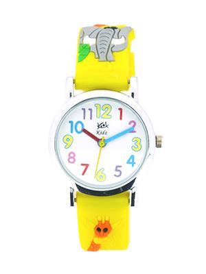 Kool Kidz Dmk-002-Bl 03 White Kids Watch