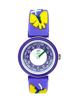 Kool Kidz Dmk-002-Rd 02 Blue Kids Watch
