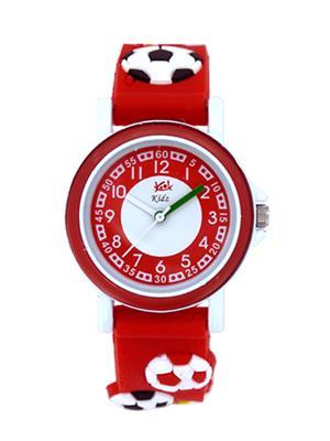 Kool Kidz Dmk-002-Yl 01 Red Kids Watch