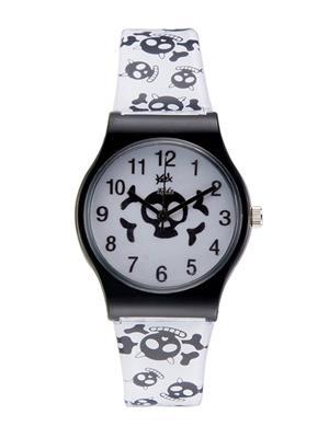 Kool Kidz Dmk-003-Bk 04 White Kids Watch