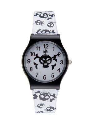 Kool Kidz Dmk-003-Bl 01 White Kids Watch