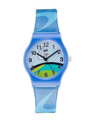 Kool Kidz Dmk-003-D.Bl 01 Multicolored Kids Watch