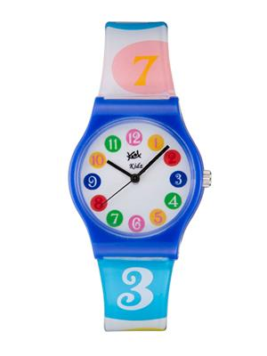 Kool Kidz Dmk-003-D.Bl 03 White Kids Watch