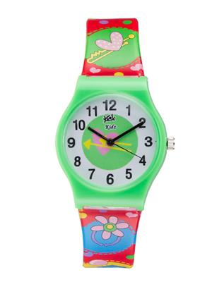 Kool Kidz Dmk-003-Gr 02 Green Kids Watch