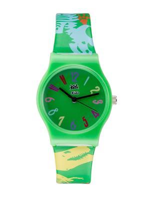 Kool Kidz Dmk-003-Pk 01 Green Kids Watch