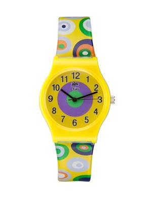 Kool Kidz Dmk-003-Yl 03 Yellow Kids Watch