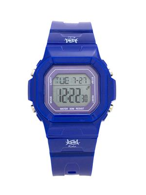 Kool Kidz Dmk-015-Yl01 Blue Kids Watch