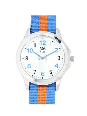 Kool Kidz Dmk-017-Bl 01 White Kids Watch