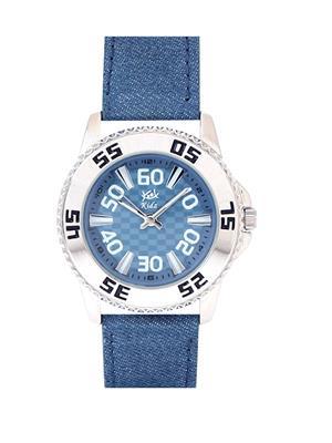 Kool Kidz Dmk-018-Gr 01 Blue Kids Watch