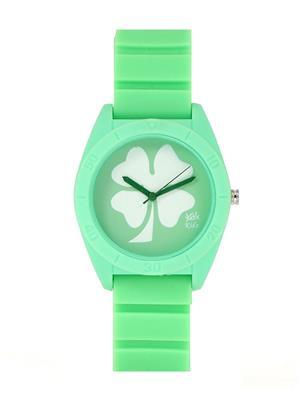 Kool Kidz Dmk-020-Pk 01 Green Kids Watch