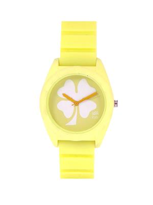 Kool Kidz Dmk-020-Yl 01 Yellow Kids Watch