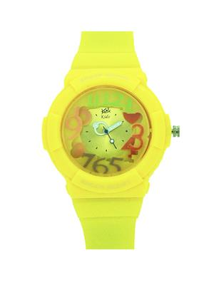 Kool Kidz Dmk-021-Yl 01 Yellow Kids Watch