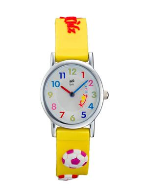 Kool Kidz Dmk-026 H-Bk Silver Kids Watch