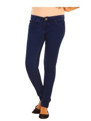 EBONY-nx DNO.555_dx Blue Women Jeans