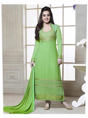 Fiona D.No.2605 Green Women Salwar Suit