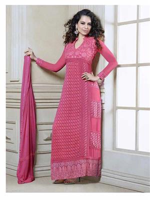 Fiona D.No.2606 Pink Women Salwar Suit