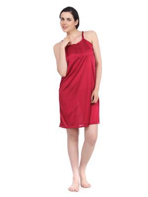 Fasense Dp055 E Red Women Night Wear