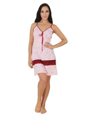 Fasense Dp154 B Pink Women Night Wear