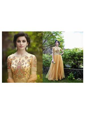 Angelic Lady DR141 Light Yellow Women Gown