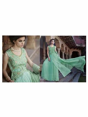 Angelic Lady DR142 Light Green Women Gown