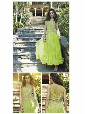 Angelic Lady DR147 Light Green Women Gown