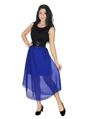 Lauriel DRS1084Blu Blue Women Dresses
