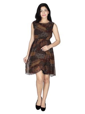 Lauriel DRS1088Brn Brown Women Dresses