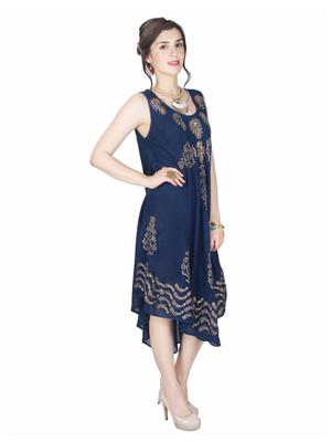 Lauriel Drs1104Nvy Navy Blue Women Dresses